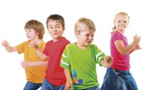 Lasten tanssiliikuntaryhmät