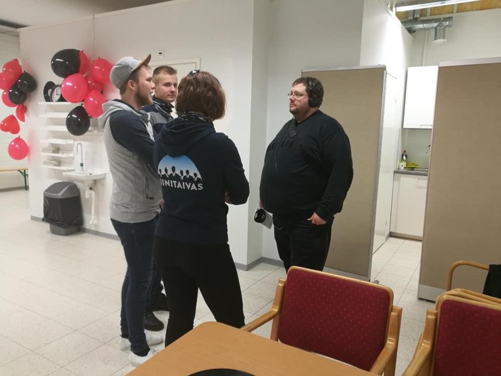 Tanssiseura Sekahaku ry. Raision toimitilan avajaiset 19.1.2019