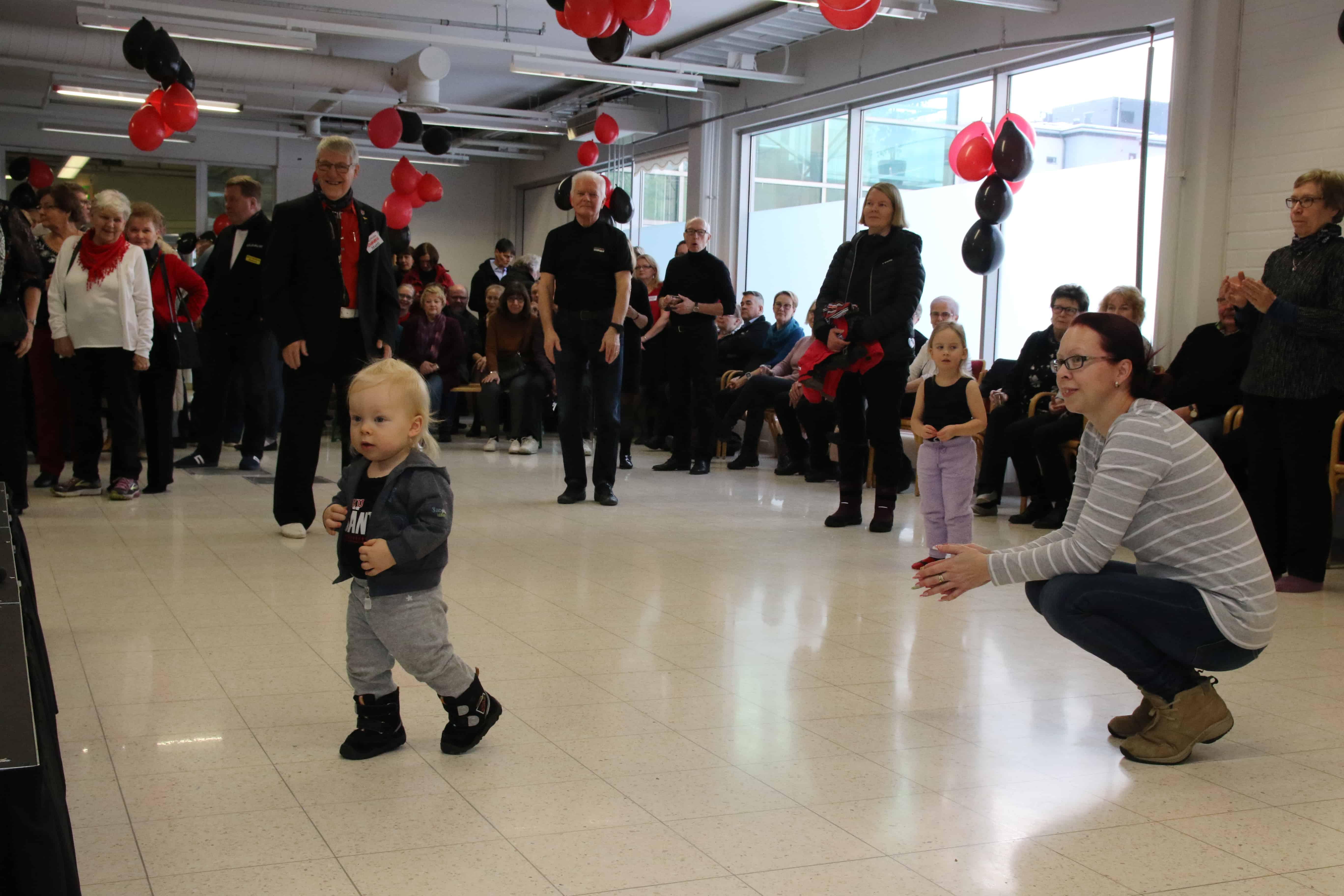 Tanssiseura Sekahaku ry. Raision tanssisalin avajaiset 19.1.2019