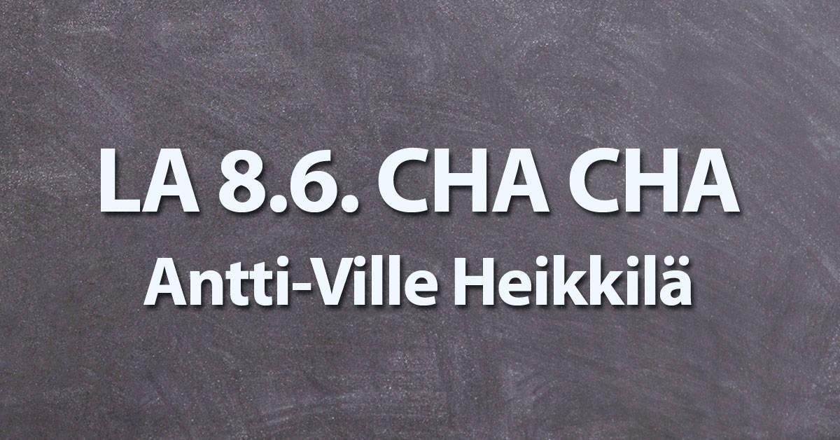 ChaCha -päivä Littoisten lavalla 8.6.