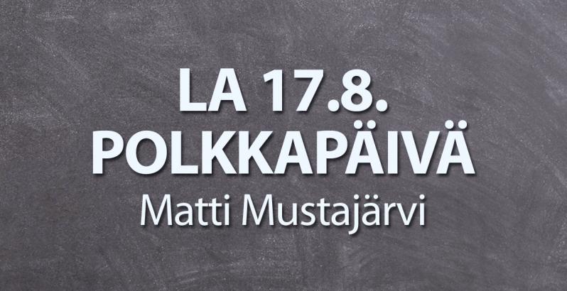 Polkkapäivä Littoisten lavalla 17.8.