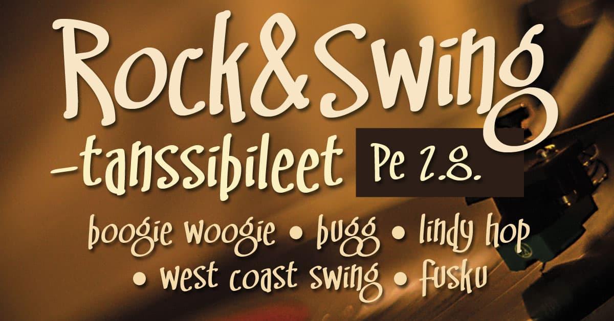 2.8. Rock & Swing -tanssibileet Littoisten lavalla