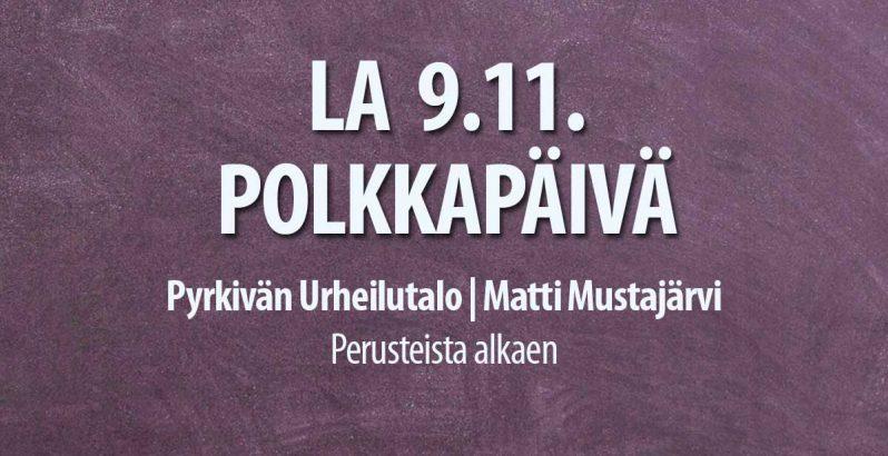 9.11.2019 Polkkapäivä Tanssiseura Sekahaku ry