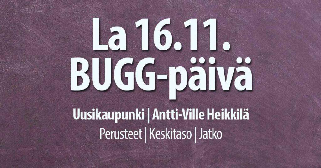 16.11. Bugg-päivä Uudessakaupungissa