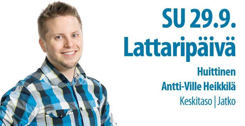 29.9.2019 Lattaripäivä Huittisissa Tanssiseura Sekahaku ry