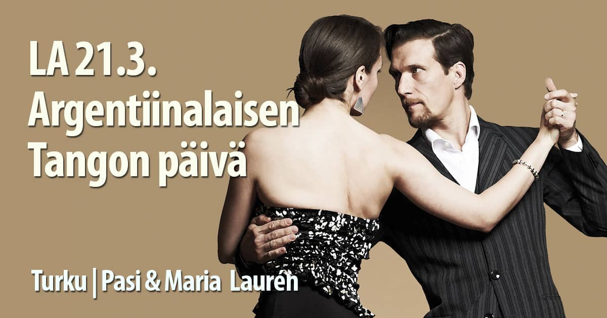 Pasi & Maria Lauren 21.3. Pyrkivän Urheilutalo / Tanssiseura Sekahaku ry