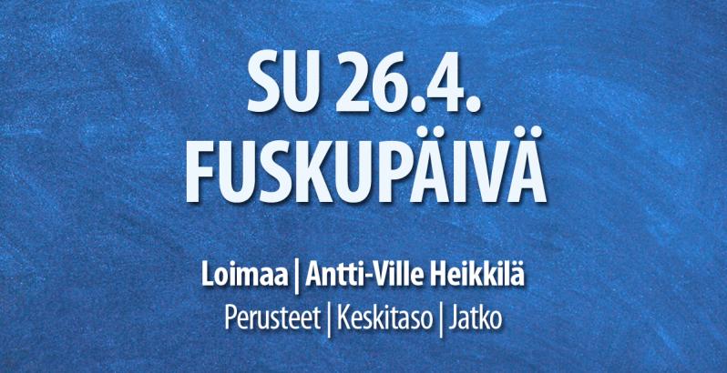 loimaa Fusku 26.4. / Tanssiseura Sekahaku ry