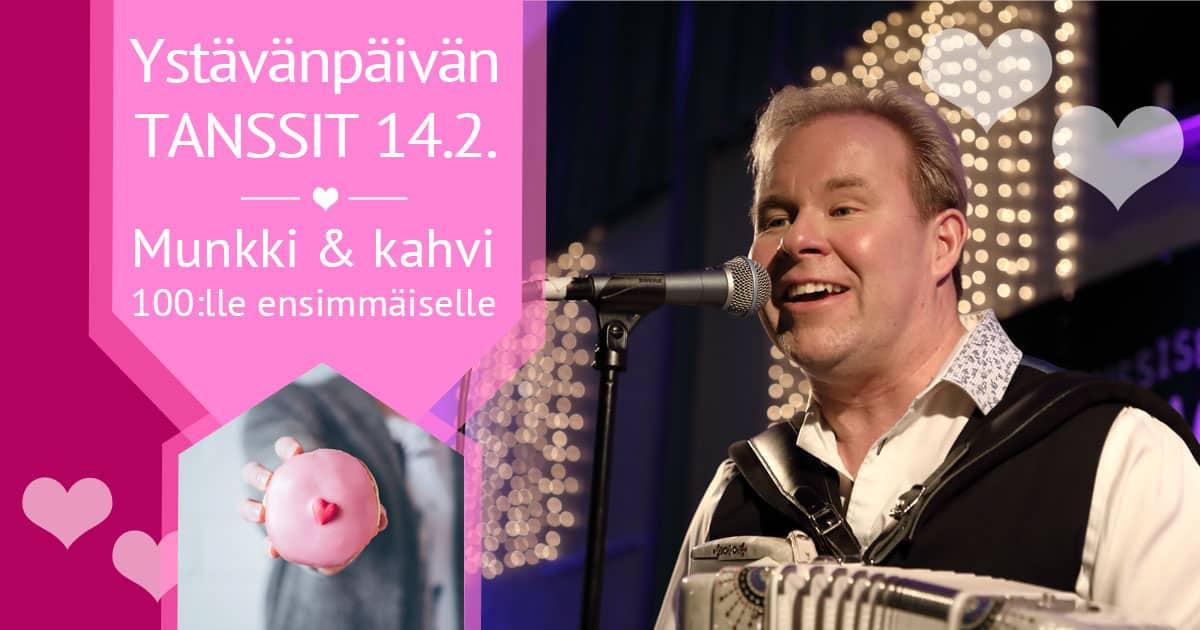 Ystävänpäivätanssit 14.2.2020 / Tanssiseura Sekahaku ry